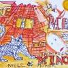 2004-Minoes-50x70-Viltstift-en-Acrylverf-op-Fabriano-Pittura-Papier
