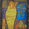 2011-Mummies-van-het-oude-Egypte-72x87-Gemengde-Technieken-op-Papier