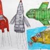 The-Thunderbirds-42x30-Viltstift-op-papier