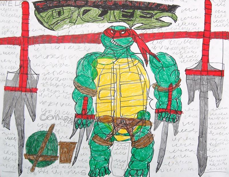 2004-Turtles-Ninja-Turtle-Raphael-(2)