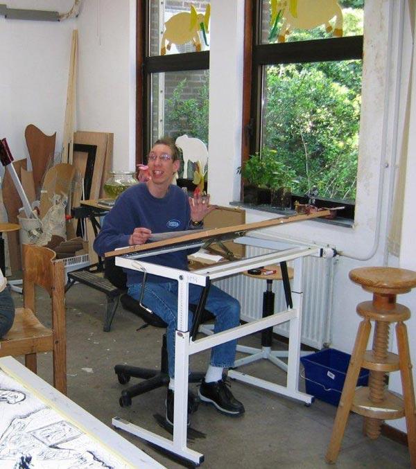 Niels bij De Witte Olifant (2004)